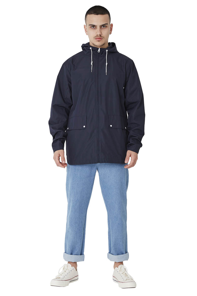 -Polyester milky coating jacket -Waterproof and water