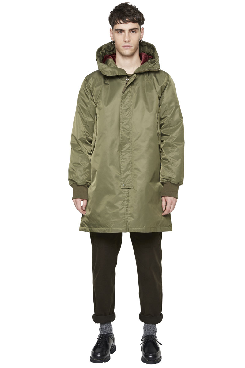 - Long Parka - Water-repellant and waterproof - Multiple