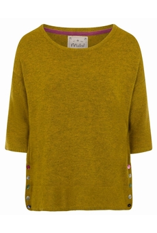 PULL-OVER AMBER GREEN MISTRAL