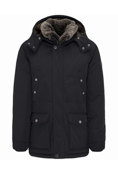 PARKA A CAPUCHE NAVY FYNCH HATTON