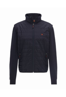 BLOUSON ZIP DEVANT STOP WIND NAVY FYNCH HATTON