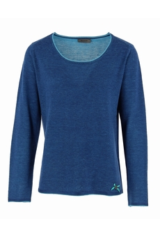 PULL COL ROULOTTE PINK MALVIN