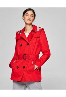 TRENCH COURT 128EE1G008 RED ESPRIT