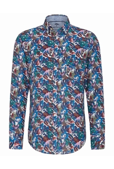 CHEMISE TURQUOISE-APRICOT FYNCH HATTON
