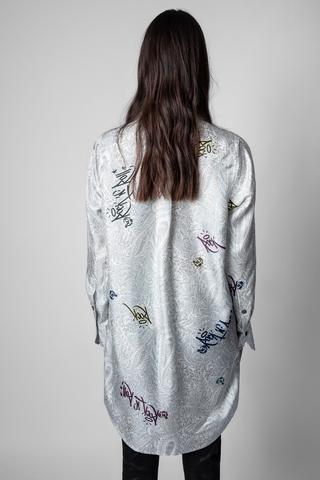 RAIS PAISLEY JORMI DRESS