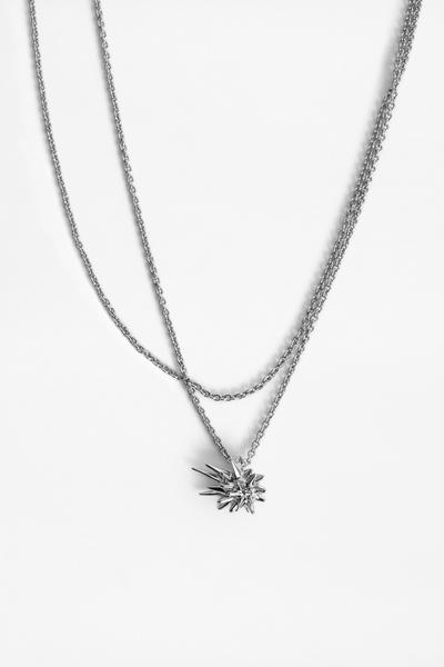 Zadig&Voltaire X Cécil women's silver-tone, comet-shaped