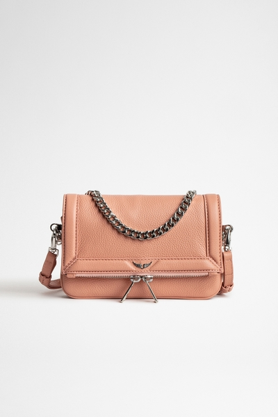 Zadig&Voltaire women's leather mini bag with a removable