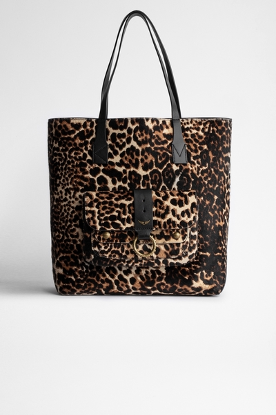 Zadig&Voltaire women's tote in pony-effect calfskin with
