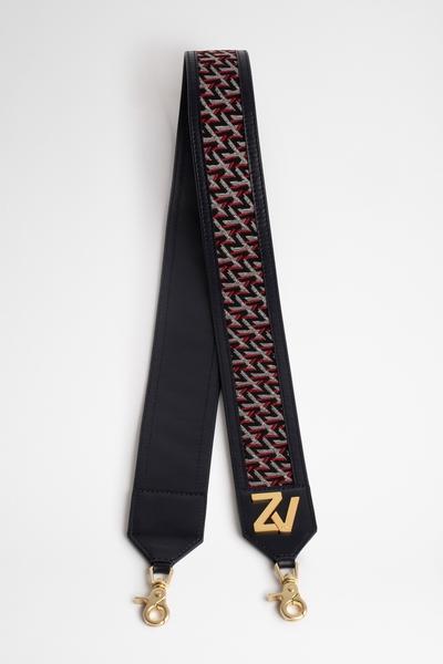 Zadig&Voltaire women's shoulder strap for bag in Italian