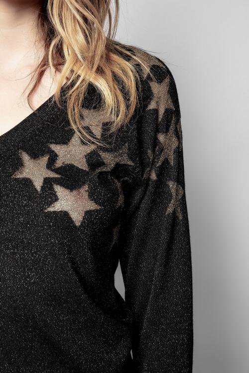 AZURA STARS LUREX SWEATER