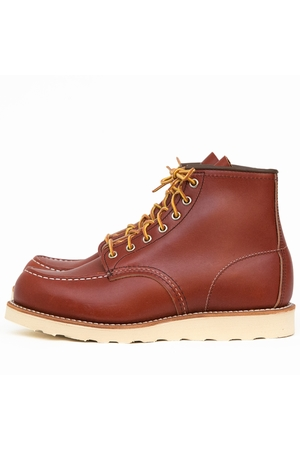 RED WING SHOES-MOC TOE-1