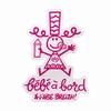 Autocollant Bébé à Bord A l'Aise Breizh. Support Vinyle