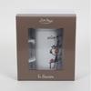 Tisanière avec filtre inox, et packaging inclus.