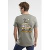 T-Shirt manches courtes A l'Aise Breizh impression Camping