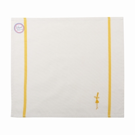 Serviette de table en coton. <br>dimensions: 40X 40cm.