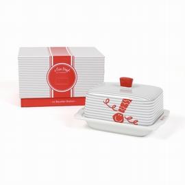 Beurrier avec packaging inclus. <br>Dimensions: 5.5cm X