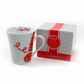 Set de 1 mug avec packaging inclus. <br>Hauteur: 10cm
