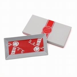 Plat à cake rectangulaire emballé dans une boîte