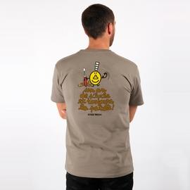 T-Shirt manches courtes A l'Aise Breizh impression Un an de