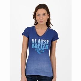 T-shirt manches courtes en jersey coton slubbé. Encolure en