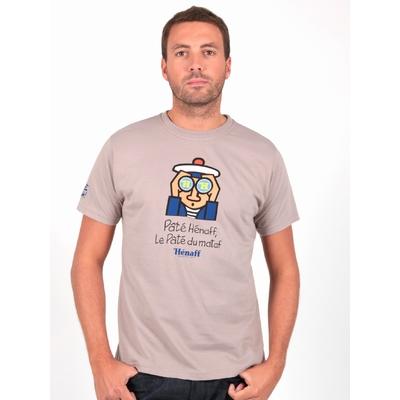 T-shirt hénaff. 100% coton.