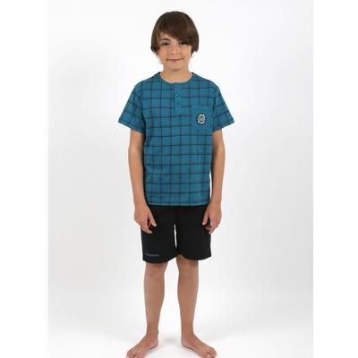 Pyjamas en jersey coton, inclus le packaging.<br>T-shirt