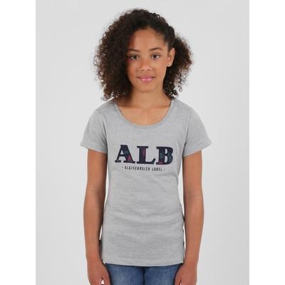 T-shirt manches courtes en coton viscose. Encolure arrondie