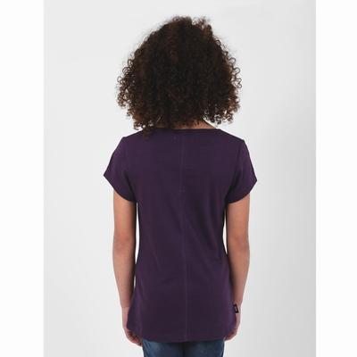 T-shirt manches courtes en jersey coton slubbé. Encolure