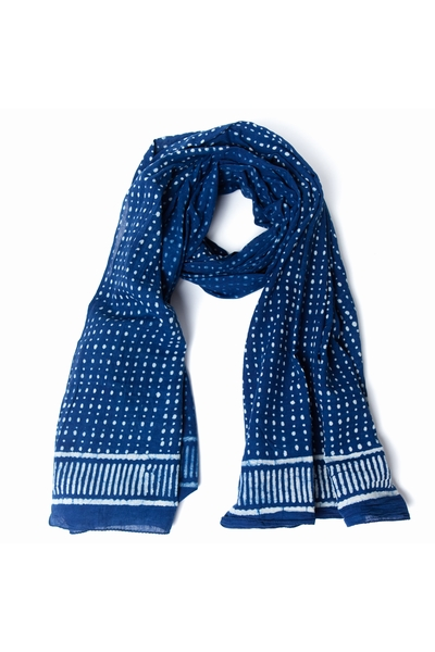 Foulard/Paréo en coton fleuri qui se fera chèche, foulard,