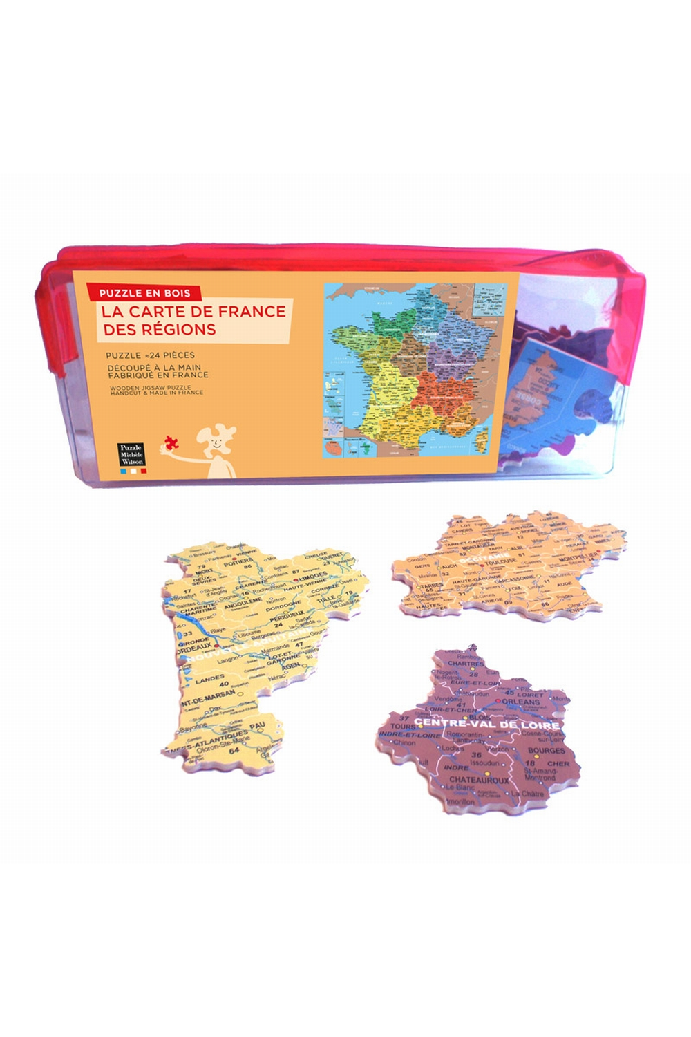 carte de france regions geographie. Black Bedroom Furniture Sets. Home Design Ideas