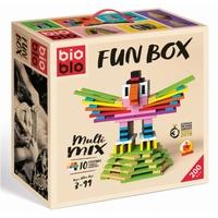 FUN BOX 200 BRIQUES - 200 BRIQUES 10 COULEURS