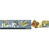 MONET MEMORY COMPACT SILVER -