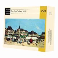 <b>Puzzle d'art en bois de 750 pièces découpé à la main en