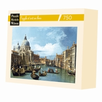 L'ENTREE DU GRAND CANAL - CANALETTO