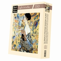 <b>Hand-cut art wooden jigsaw puzzle of 350 pieces - Made in
