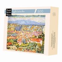<b>Puzzle d'art en bois de 350 pièces, découpé à la main en