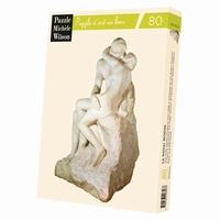 Puzzle d'art en bois 80 pièces - Cette sculpture en marbre