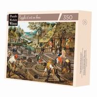 <br>Puzzle d'art en bois de 350 pièces, découpé à la main en