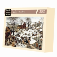 Hand-cut art wooden jigsaw puzzle of 350 pieces - Made in