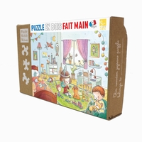 <b>Michele Wilson jigsaw puzzles are fun, educational, and