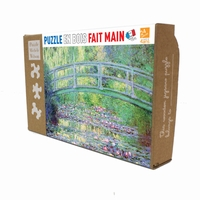 <b>Michèle Wilson jigsaw puzzles are playful, educational,