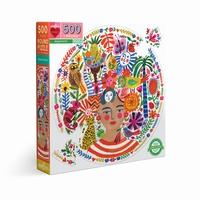 Les puzzles Eeboo sont faits à 90% de cartons recyclés, et