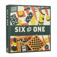 SIX IN ONE - COFFRET 6 JEUX -