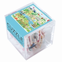 <b>Hand-cut art wooden jigsaw puzzle of 30 pieces - Made in