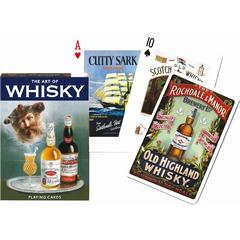 Jeu de 55 cartes thématiques autour du whisky, en affiches,