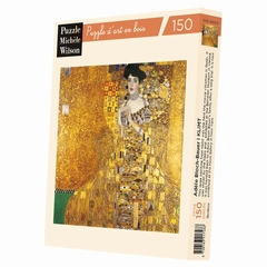 b>Hand-cut art wooden jigsaw puzzle of 150 large pieces -