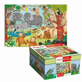 GIANT PUZZLE LA JUNGLE HC
