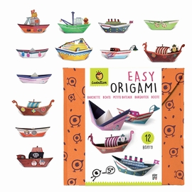 EASY ORIGAMI BATEAUX