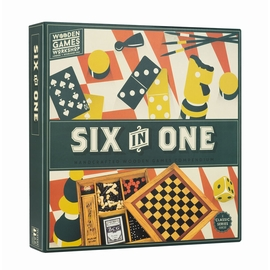 SIX IN ONE - COFFRET 6 JEUX
