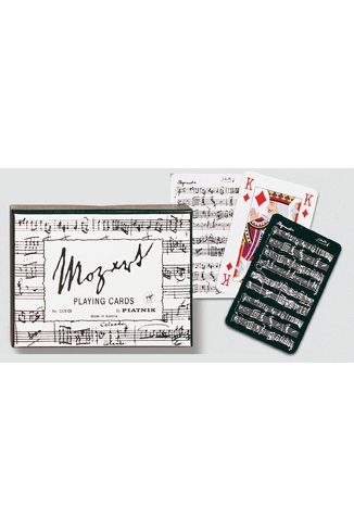 MOZART BLACK & WHITE - 2X55 CARTES